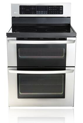 LG LDE3011ST  Electric Freestanding Range with Smoothtop Cooktop, 4.4 cu. ft. Primary Oven Capacity, in Stainless Steel