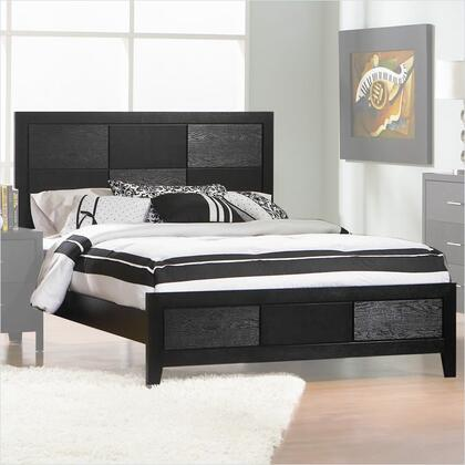 Coaster 201651 Grove Panel Bed in Black Finish