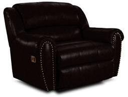 Lane Furniture 2141427542713 Summerlin Series Transitional Leather Wood Frame  Recliners