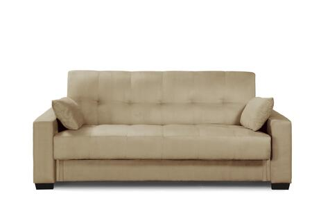 Napa Beech Sofa Front View