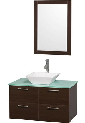 Wyndham Collection WCR410036ESGRD28WH