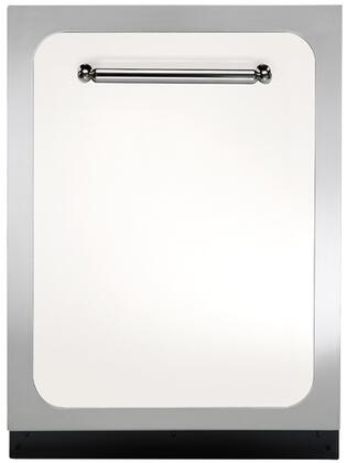 """Heartland HCDWI1WHT 24"""" Classic Series Built-In Fully Integrated Dishwasher with 15 Place Settings Place Settingin White"""