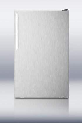 "AccuCold FS408BLXBISSHV 20""  Counter Depth Freezer with 2.8 cu. ft. Capacity in Stainless Steel"