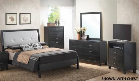 Glory Furniture G1250EKB3DMTV G1250 King Bedroom Sets