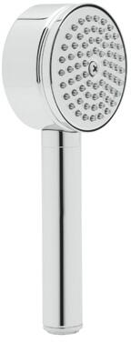 """Rohl 1130E 3"""" Circular Anti-Cal Handshower with 2 GPM Flow Rate, Brass Handle and Single-Function Spray Pattern in"""