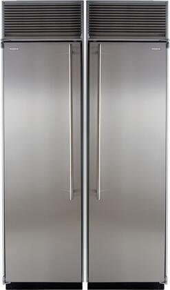 Marvel 550220 Side-By-Side Refrigerators