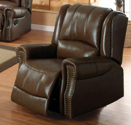 Yuan Tai GM5500CCH Gambell Series Leather Wood Frame  Recliners