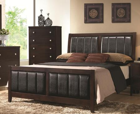Coaster 202091Q Carlton Series  Queen Size Panel Bed
