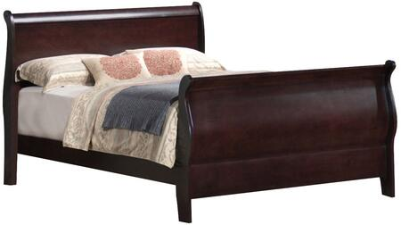 Coaster 203981NKW Louis Philippe Series  California King Size Sleigh Bed
