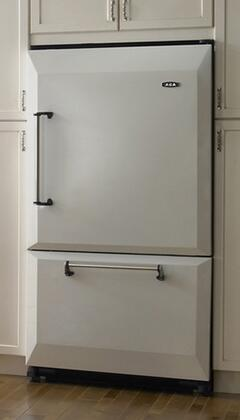 AGA AFHR36WHTLH Legacy Series Counter Depth Refrigerator with 20 cu. ft. Total Capacity 5.5 cu. ft. Freezer Capacity