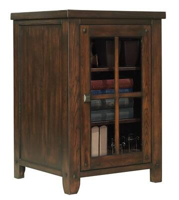 Bello EC9740LS22 Dakota Lower Storage with Tempered Glass Windowpane Doors, Adjustable Glass Shelf and Interior Touch Lighting in