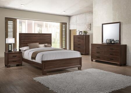 Coaster Brandon 5 Piece King Size Bedroom Set