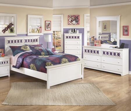 Milo Italia BR205FPBDMC Mendoza Full Bedroom Sets