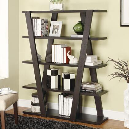 Coaster 800318 Bookcases Series  5 Shelves Bookcase