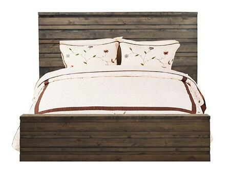 Legends Furniture AV71 Avondale Panel Bed with Dado Construction, Designed in U.S.A, Premium Selected Hardwood and Veneers in Charcoal Finish