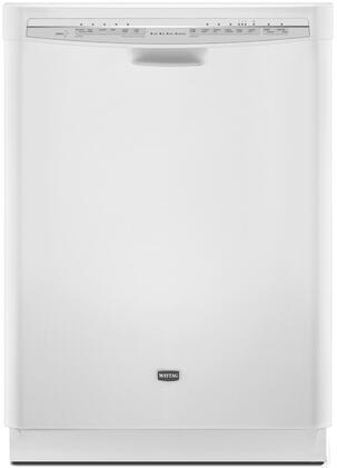 Maytag MDB8949SAW JetClean Plus Series Built-In Full Console Dishwasher with in White