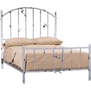 Stone County Ironworks 958066  California King Size Complete Bed