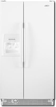 Whirlpool ED5LHAXWQ  Side by Side Refrigerator with 25.4 cu. ft. Capacity in White