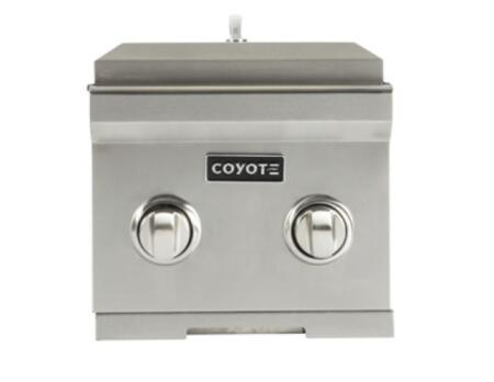 Coyote C1DB Double Side Burner with 304 grade stainless steel construction