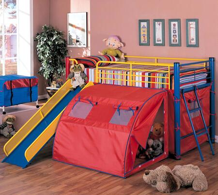 Coaster 7239 Oates Series  Twin Size Bunk Bed
