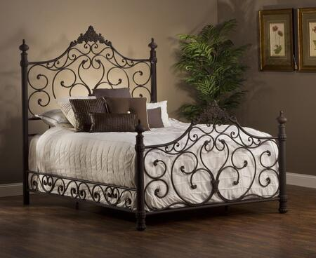 Hillsdale Furniture 1742BKR Baremore Series  King Size Poster Bed