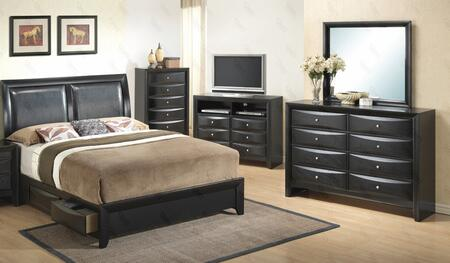Glory Furniture G1500DDFSB2DM G1500D Full Bedroom Sets