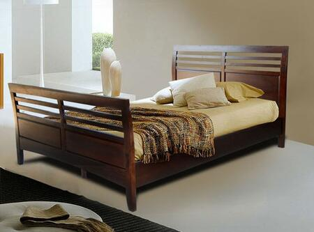 Vifah V1275 Berkshire Series  Queen Size Panel Bed