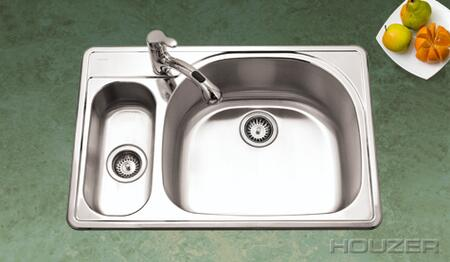Houzer RMG3322SL Kitchen Sink