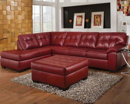 Acme Furniture 50442 Shi Series Stationary Bonded Leather Sofa