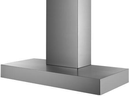 Prizer Hoods MANH Manhattan Wall Mount Hood with Seamless Construction, 3-Speed Control, High Heat Sensor, Baffle Filter and Halogen Lighting, in Stainless Steel