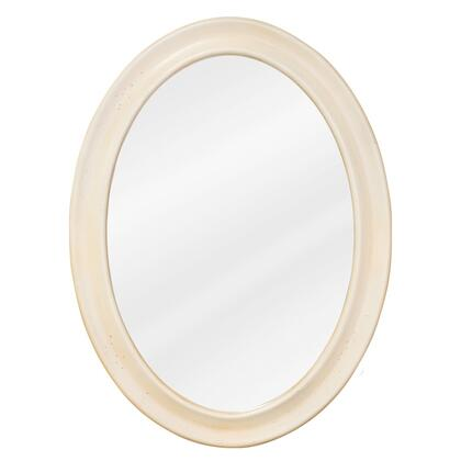 Bath Elements MIR061 Clairemont Series Oval Portrait Bathroom Mirror