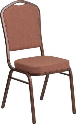 """Flash Furniture Hercules FD-C01-C 38"""" Banquet Chair with Crown Back Design, Fabric Upholstery, Seamless Back Panel and Double Support Braces in"""