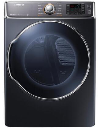 """Samsung Appliance DV56H9100EG 30""""  Onyx 9.5 cu. ft. Electric Dryer"""