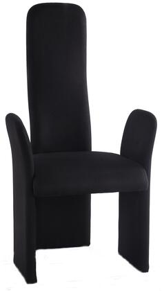 "Chintaly Lucy Collection LUCY-AC-XX 42"" Arm Chair with Fabric Upholstery, Modern Profile and Fire Retardant Foam in"