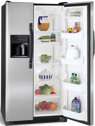 Frigidaire FRS3HR35KS  Side by Side Refrigerator with 22.6 cu. ft. Capacity in Stainless Steel