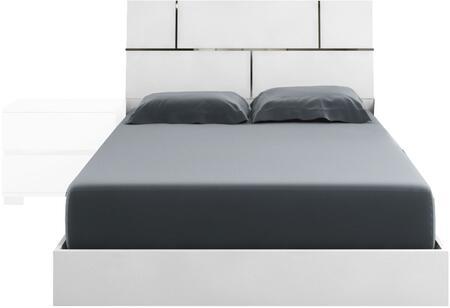 Casabianca TC9002QW Pisa Series  Queen Size Panel Bed