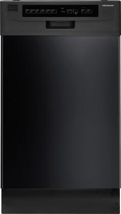 "Frigidaire FFBD1821MB 18"" 1800 Series Built In Full Console Dishwasher with 10 Place Settings Place Settingin Black"