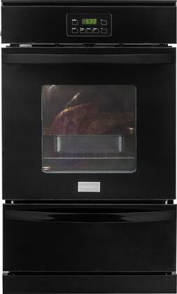 Gas Wall Oven in Black