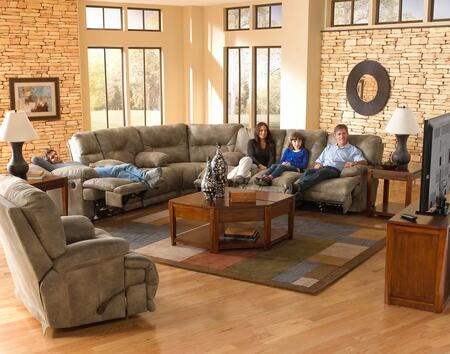 Catnapper 4381122849132849SEC Voyager Sectional Sofas