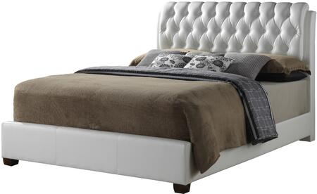Glory Furniture G1570CKBUP  King Size Panel Bed