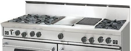 BlueStar RGTNB606CBSS  Gas Open Burner Style Cooktop