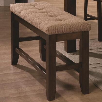 Coaster 102677 Antoine Series  Armless Wood Veneers & Solids Bench