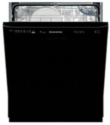Ariston LL64BNA  Built-In Full Console Dishwasher with in Black