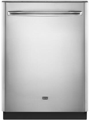 "Maytag MDB7759SAS 24"" JetClean Plus Series Built-In Fully Integrated Dishwasher"