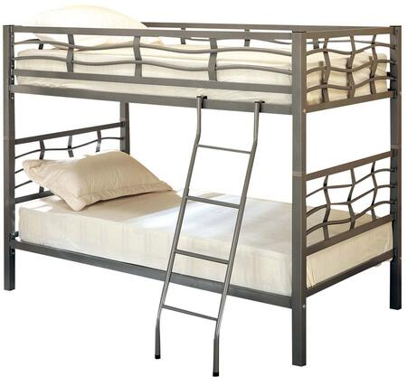Coaster 7395 Bunks Series  Twin Size Bunk Bed