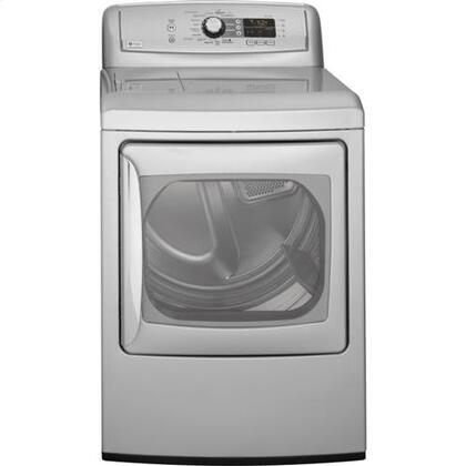 """GE PTDS855EMMS Front Load Electric No 27"""" Digital and Knobs No Dryer 