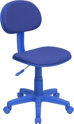"""Flash Furniture BT-698-XX-GG 17.25"""" Fabric Ergonomic Task Chair with Pneumatic Seat Height Adjustment, Heavy Duty Nylon Base and Dual Wheel Casters"""