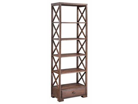 Stein World 57242Chisholm Series Wood 5 Shelves Bookcase
