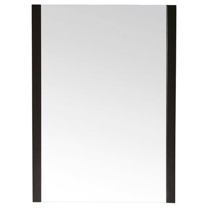 Avanity Loft LOFT-MXX-DW Mirror with Birch Solid Wood Frame, Non-Beveled Mirror, and Wood Cleat at Back For Easy Hanging, in Dark Walnut Finish