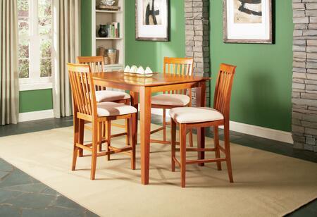 Atlantic Furniture SHAKER3939STPTCL
